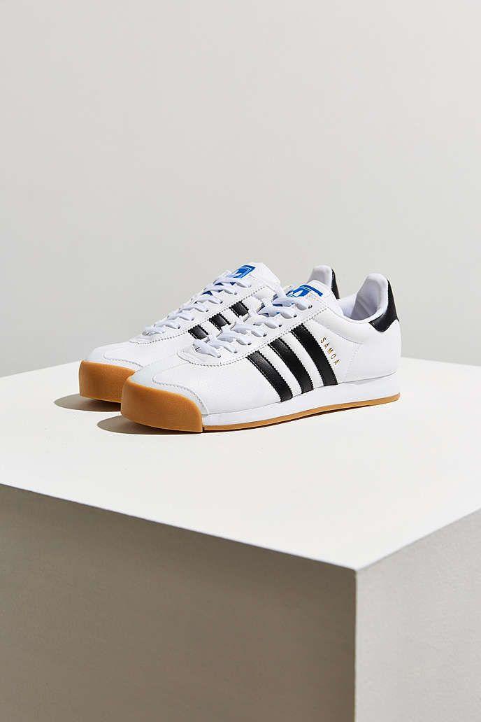 Adidas Samoa perforada suela de goma trapos, Bolsas y zapatos