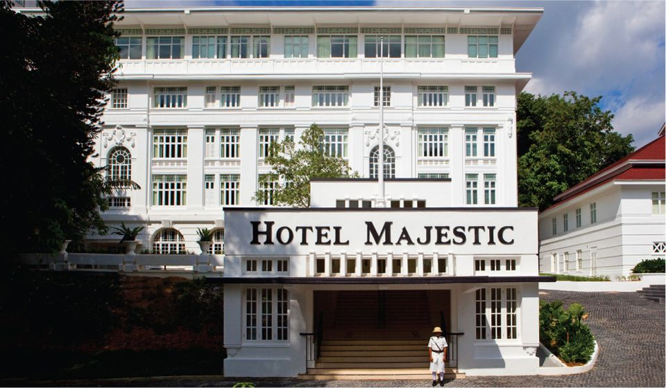 The Majestic Hotel Kuala Lumpur The Hotel Was Built In 1932 But Was Recently Restored To Its Original Featu Hotel Kuala Lumpur Majestic Hotel Singapore Hotels