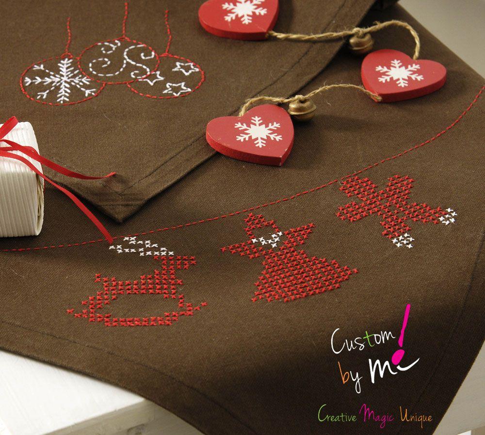 Ambiance Noël avec les feuilles magiques Custom by me! - DMC ...