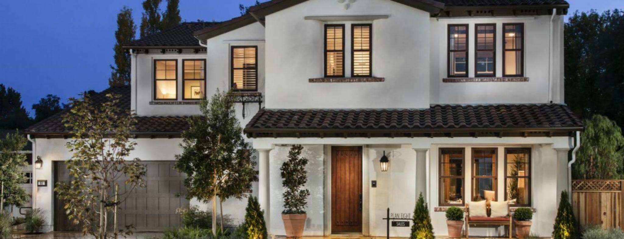 New home garden  Garden House  The New Home Company  the new home company