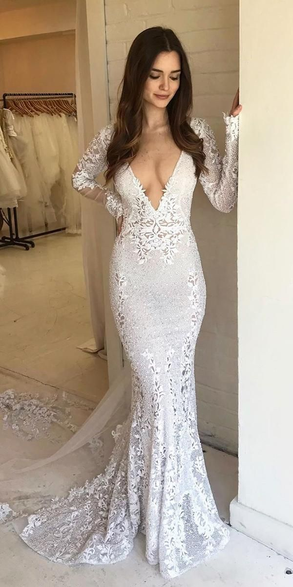 30 Mermaid Wedding Dresses You Admire is part of Mermaid wedding dress - Notice the spectacular mermaid wedding dresses  This style will make you the Queen! The main feature is skirt, which gives the image of femininity