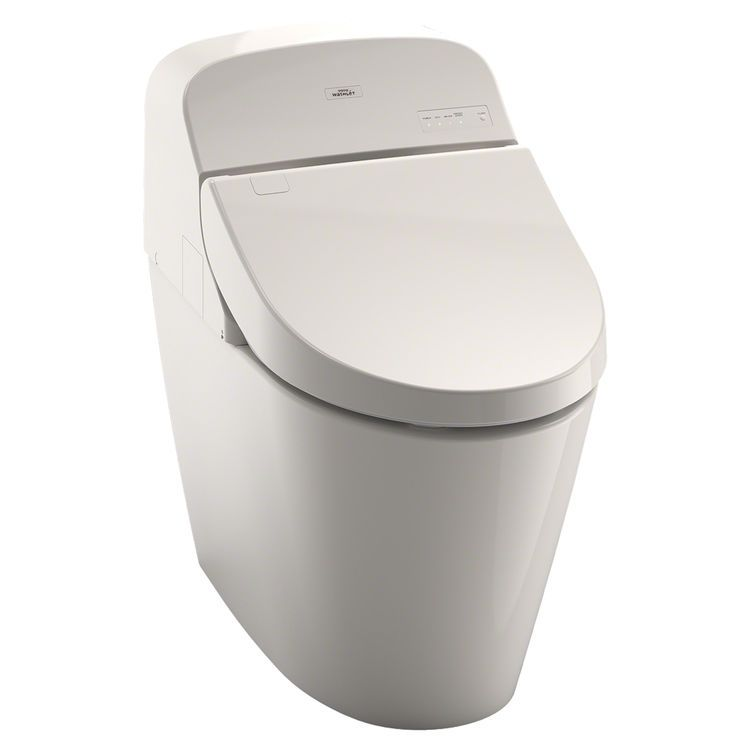 Toto Washlet G400 W Integrated Toilet Sedona Beige Elongated