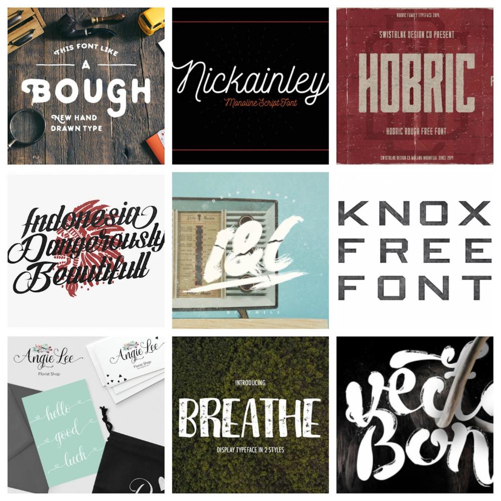 55 Free Vintage Fonts For Design Entrepreneurs In 2020 Vintage Fonts Vintage Typography Luxury Font