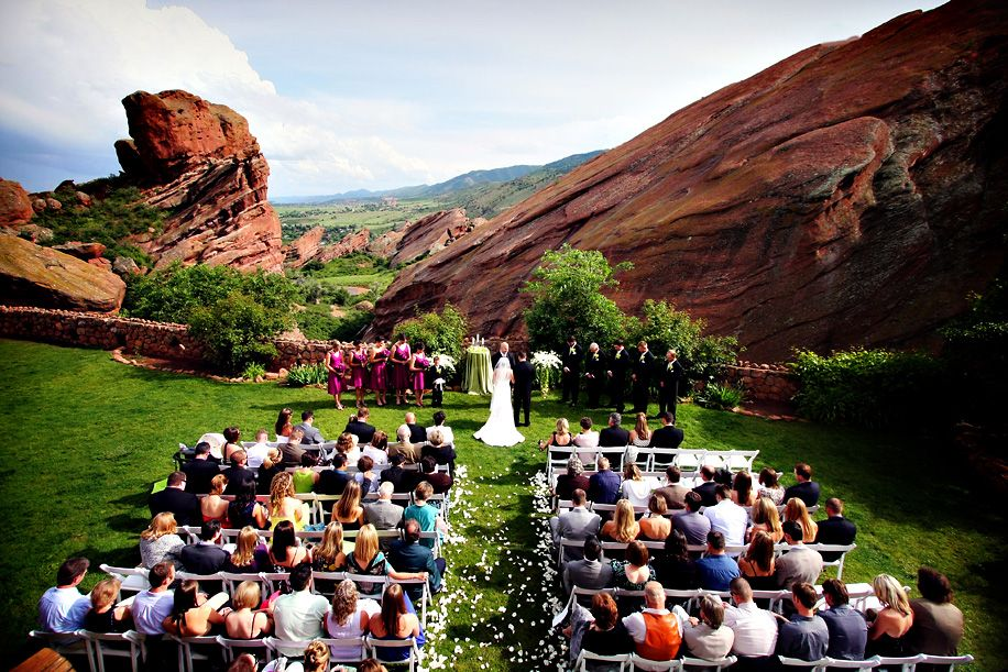 Wedding Parks In Denver Colorado Denver Wedding Photographer Wedding Ceremony At Red Rocks Trad Red Rock Wedding Denver Wedding Venue Colorado Wedding Venues