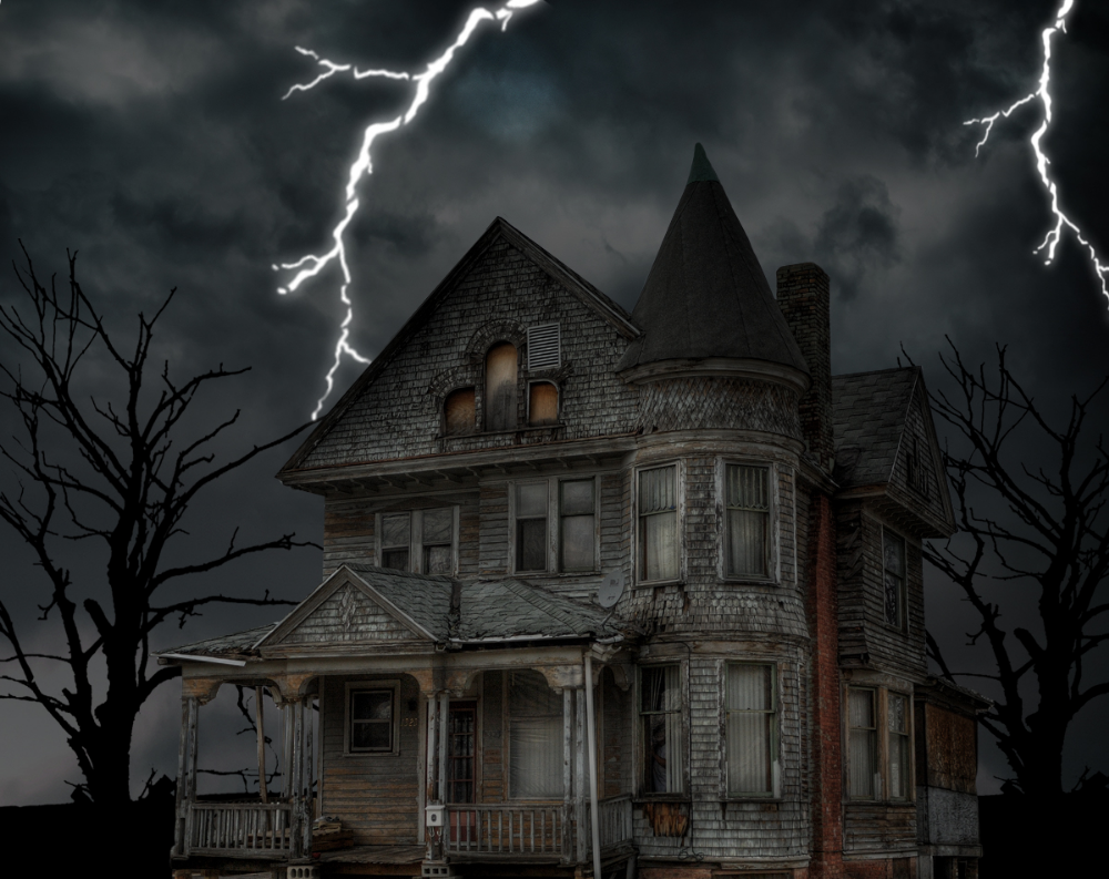 Haunted House Halloween Wallpapers 4K, Full HD Mobile
