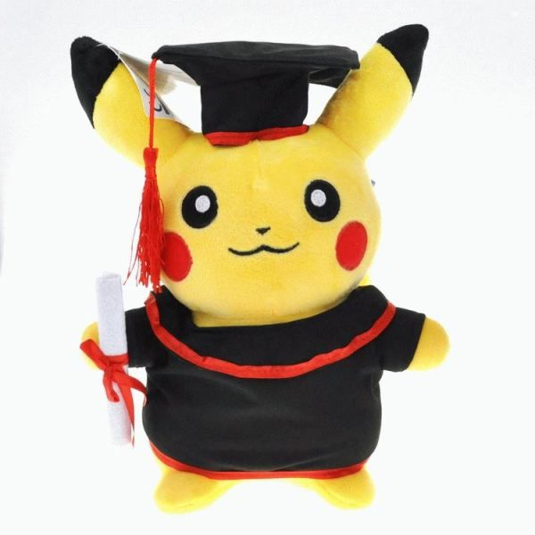 Pikachu Doctor Plush Figure Pokemon fun merchandise and things http://shopokemon.com/shop/pokemon-toys/pikachu-doctor-plush-figure/