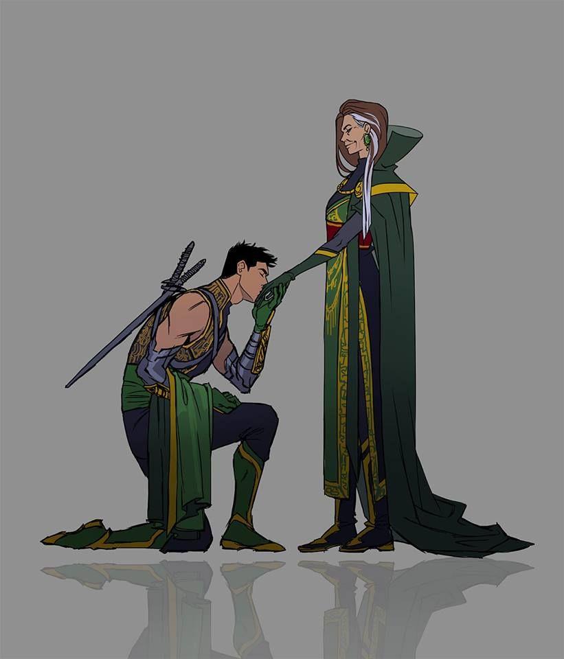 Damian And Talia Al Ghul | Batman family, Talia al ghul
