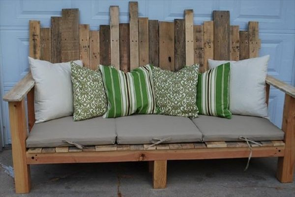 Patio Furniture Made From Pallets Best Pallet Patio Furniture for