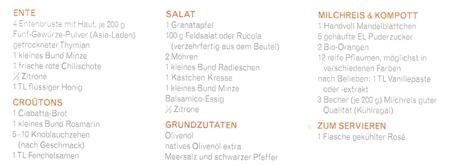 8.Tag - Jamie Oliver 30 Minuten Menü - Ente & Salat