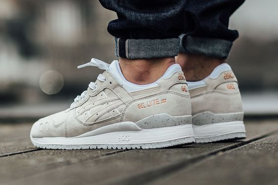 Deliberadamente colección billetera  Asics gel lyte lll - slight white | Mode schoenen, Herensneakers,  Herenschoenen