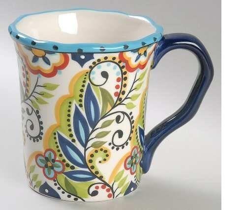 Tabletops Unlimited Bocca Mug, Fine China Dinnerware #TabletopsUnlimited