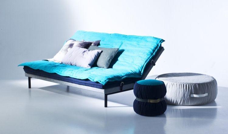 Kissen in Türkis fürs Wohnzimmer \u2013 25 tolle Dekoideen Dekoration