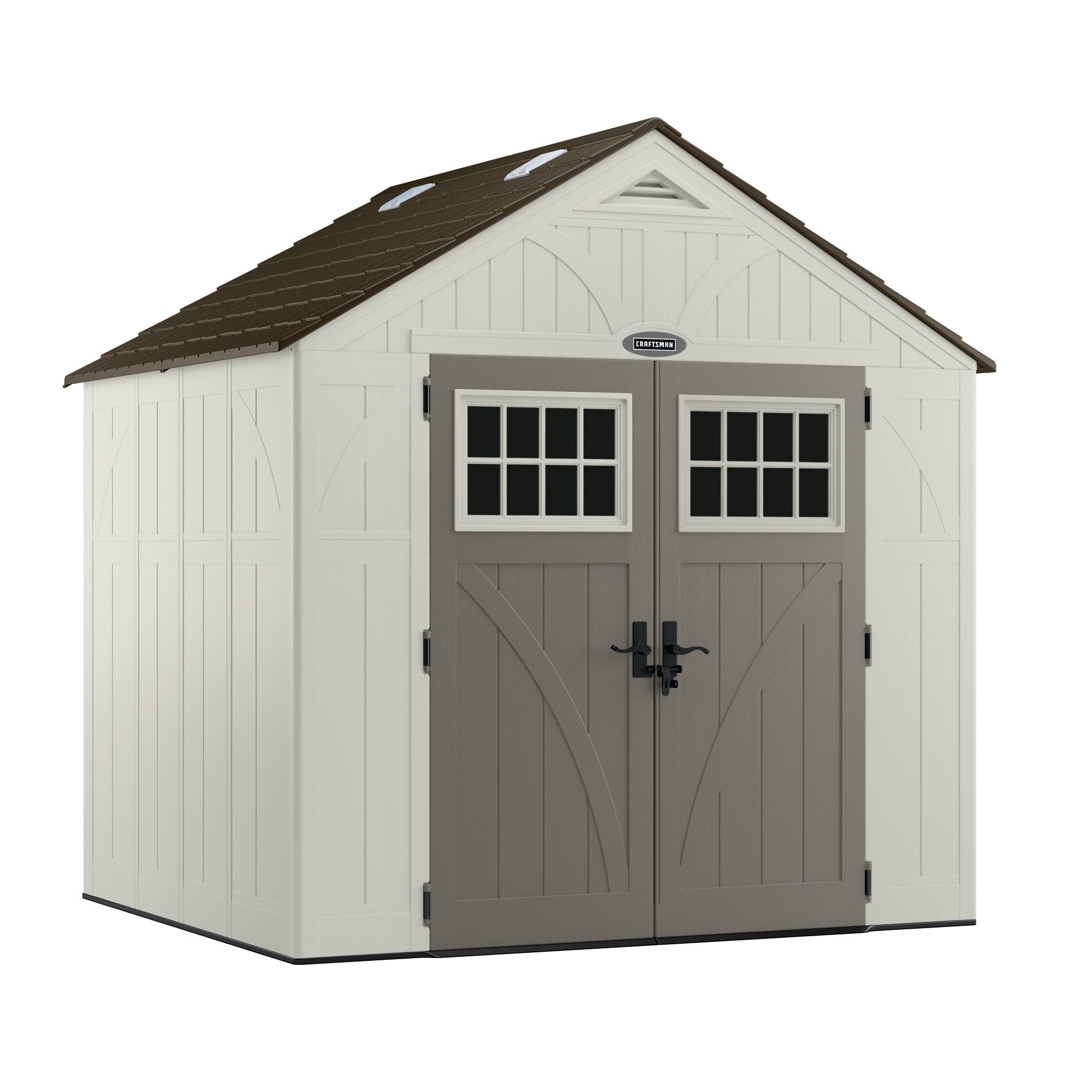 outdoor living today 9 ft x 9 ft penthouse cedar garden shed