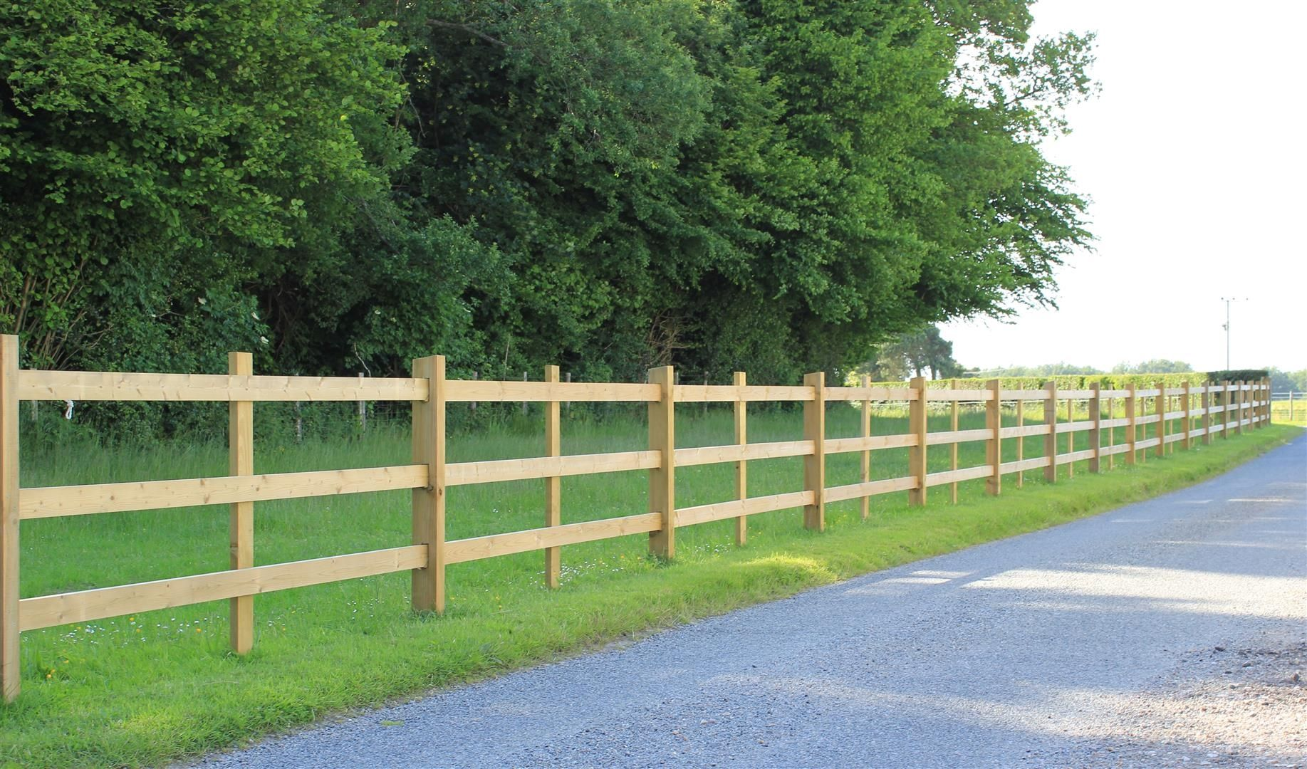 Morticed Post And Rail Fencing Post And Rail Fence Rail Fence Agricultural Fencing