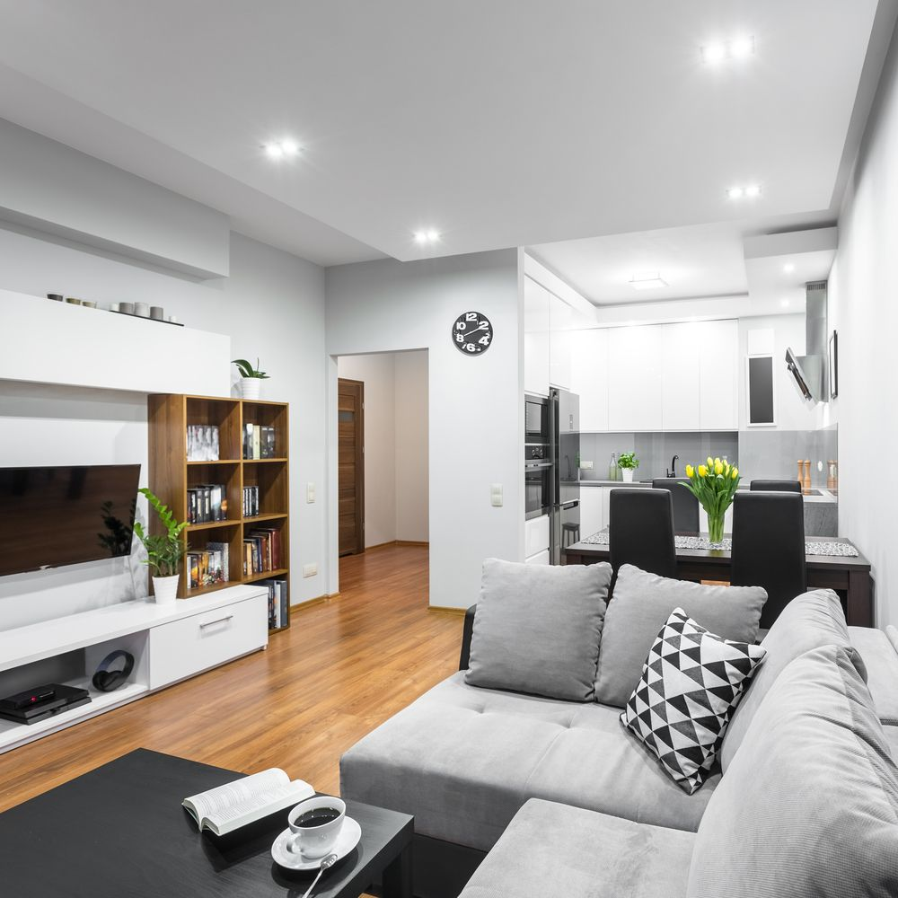 10 Contemporary Living Room Ideas 2020 As Fine Selections In 2020 Living Room Dining Room Combo Minimalist Living Room Bookshelves In Living Room