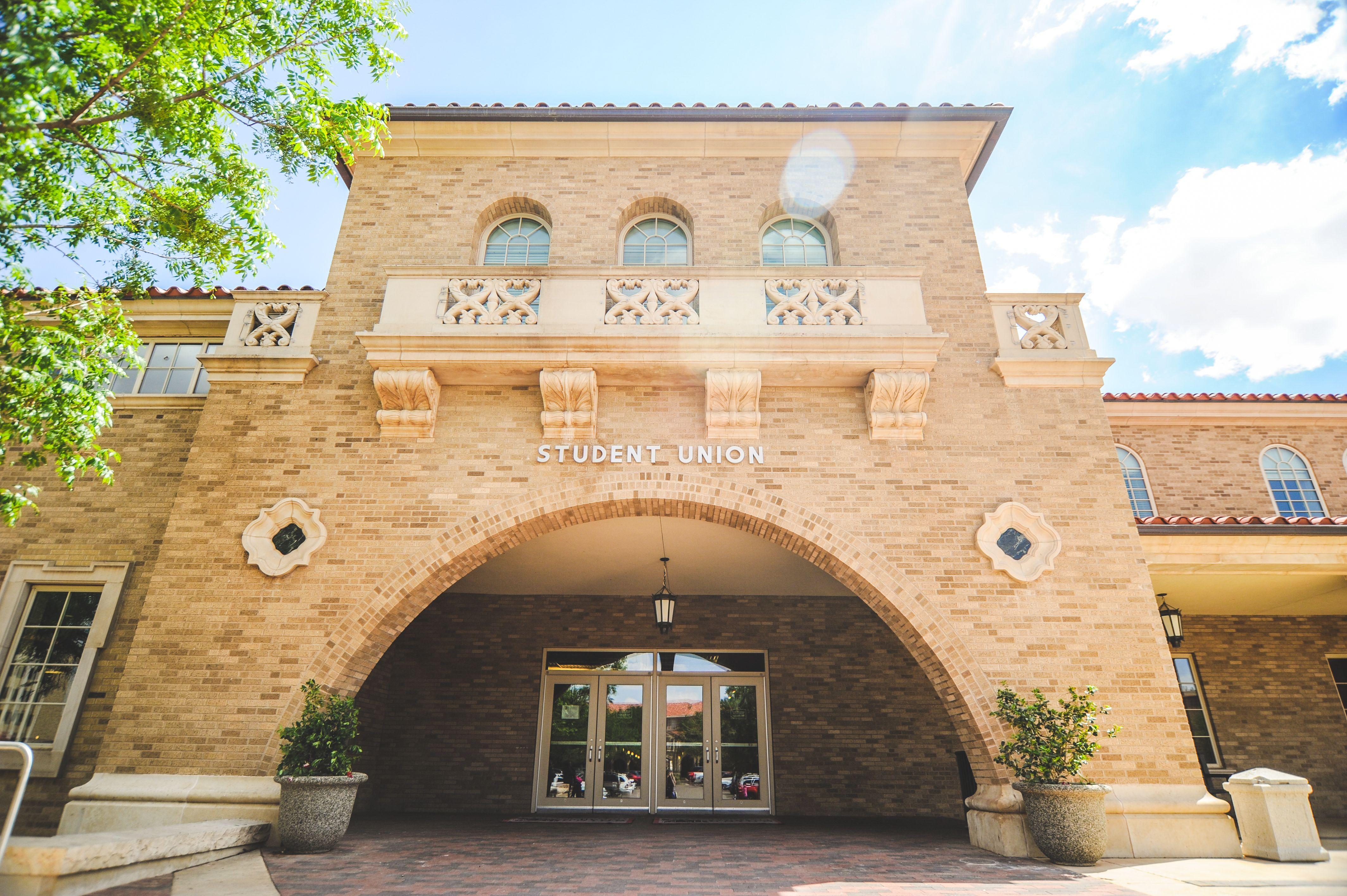 Student Union Building TTAA TexasTech SupportTradition