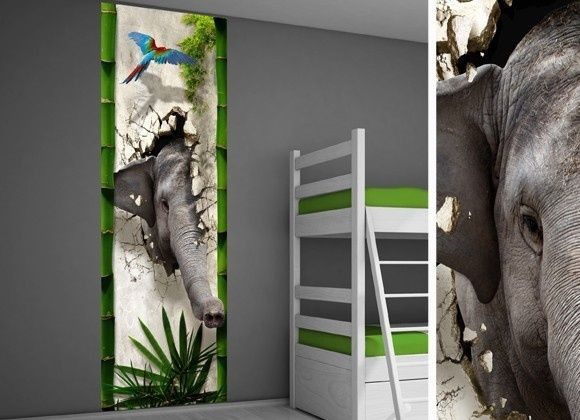 Muursticker kinderkamer jungle jungle kamer idee kids stuff