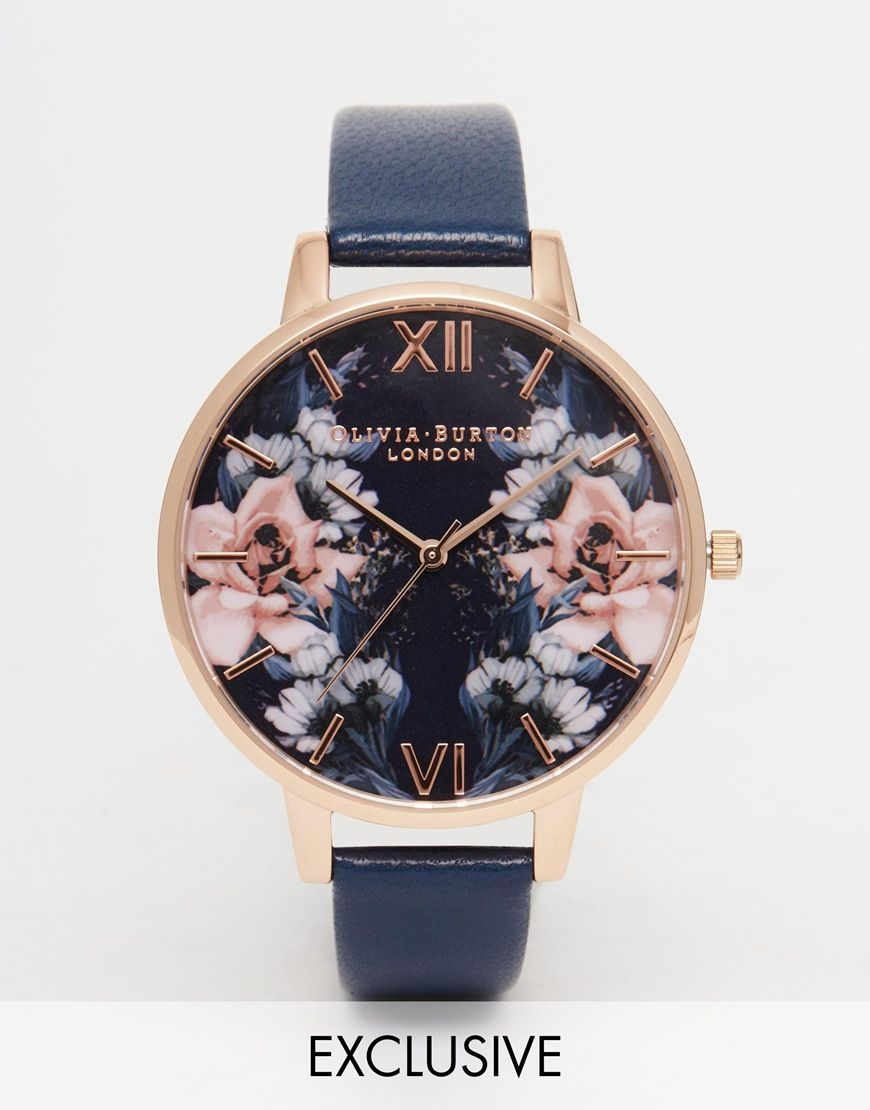 Image 1 of Olivia Burton Floral Big Dial Watch