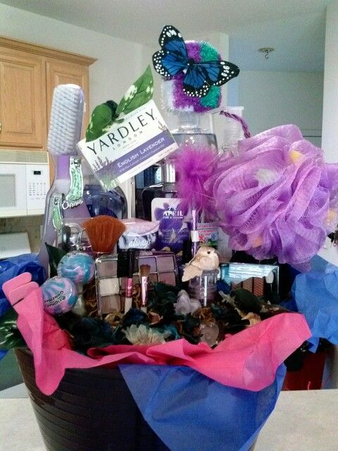Makeup And Personal Hygiene Gift Basket With Images Makeup