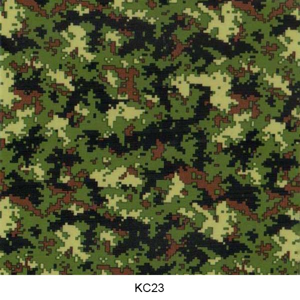 Hydro dipping film camouflage pattern KC23