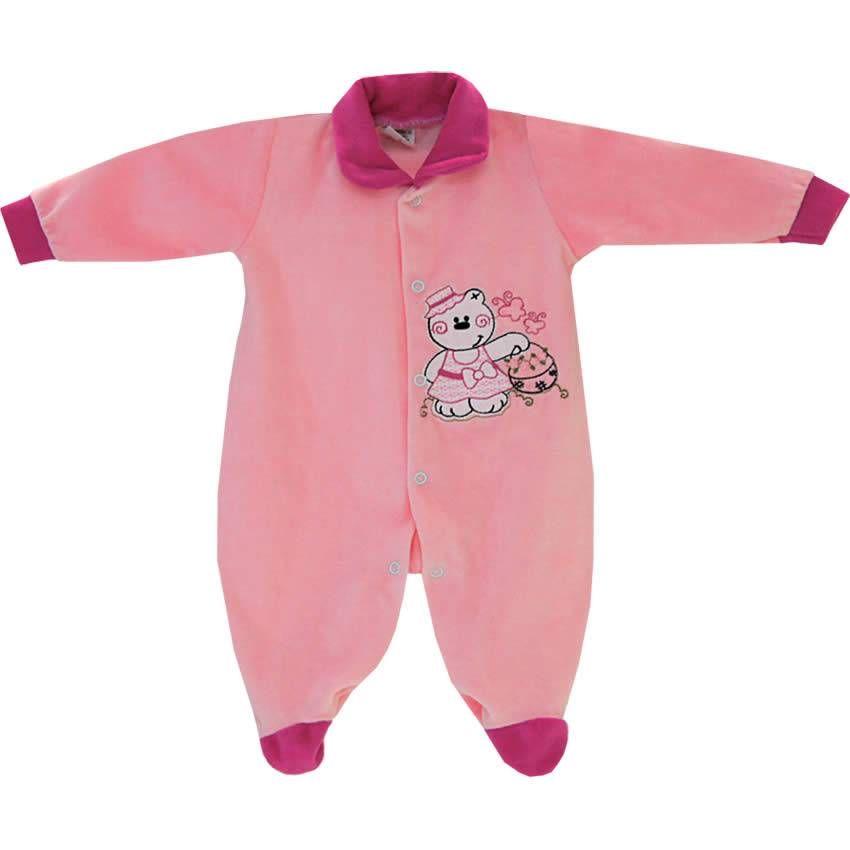 Macacão Barato em Plush para Bebê Menina Cores Sortidas - Aya Baby    764  Kids  d18016544af