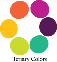 Tertiary Colors Great Accents With New Gray And White Color Scheme