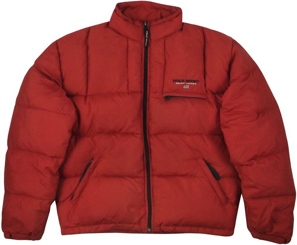 Image of Vintage Ralph Lauren Polo Sport Down Jacket Size