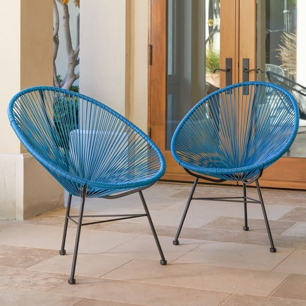 Magnificent Sarcelles Modern Wicker Patio Chairs By Corvus Set Of 2 Gmtry Best Dining Table And Chair Ideas Images Gmtryco