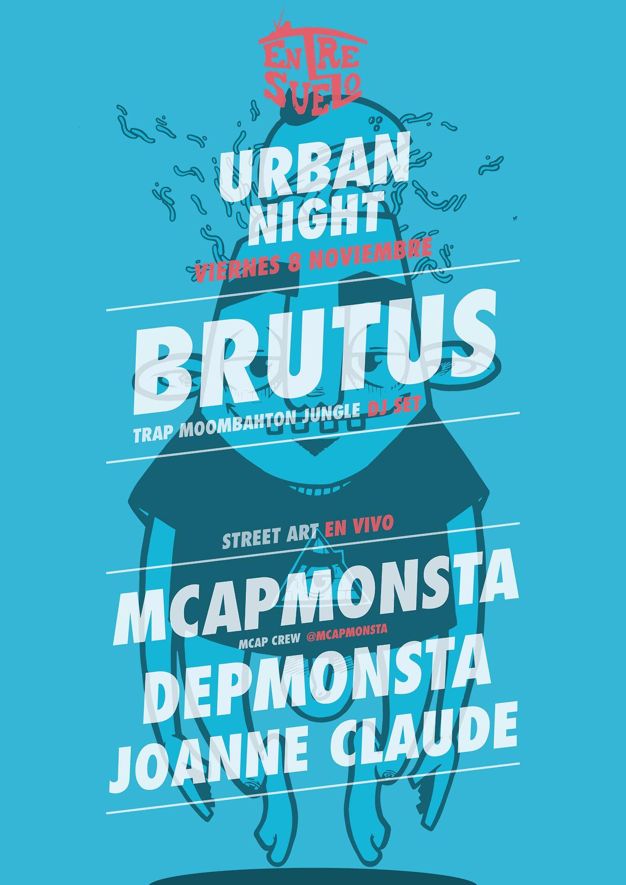 Entresuelo Urban Night 2013  - MCAPMONSTA