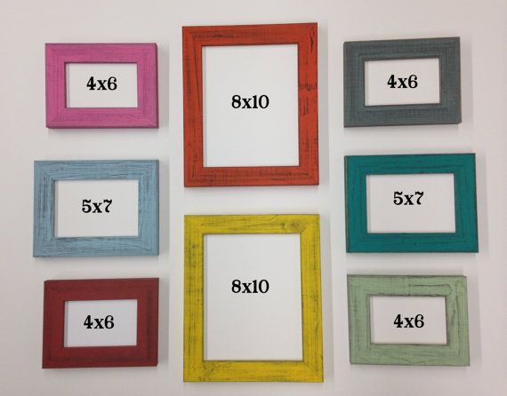 8x10 Wall Frames distressed picture frame wall grouping choosewholesaleframe