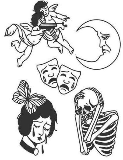 10+ best tattoo sketches design ideas 5