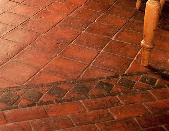 Image Result For Clay Tile Flooring Tepoz In 2018 Pinterest