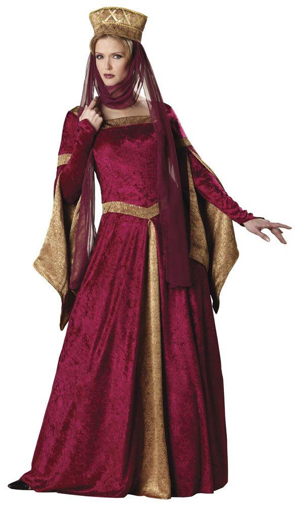 MAID MARIAN ADULT WOMENS MEDIEVAL FANCY DRESS RENAISSANCE COSTUME