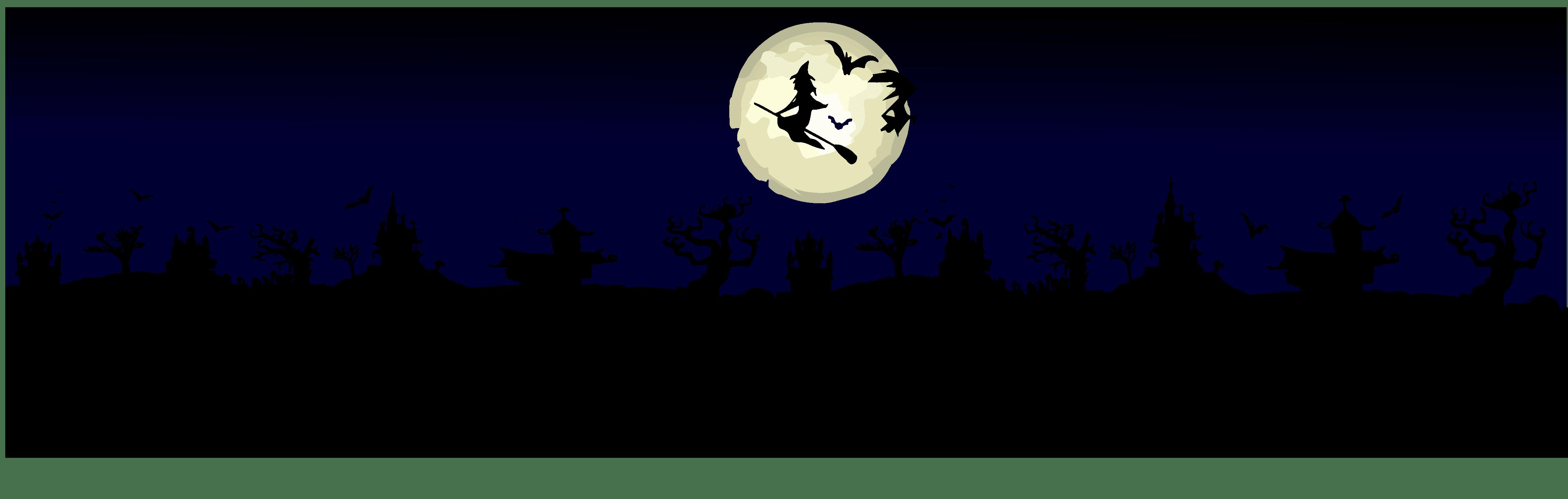 Halloween Full Moon The Darkest Background