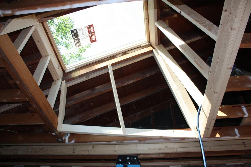 Insulation Around Skylight Tunnel Skylight Roof Light Diy Insulation