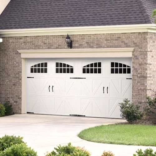 Costco Wholesale & Costco: Amarr Custom Garage Doors Professionally Installed. But use ...