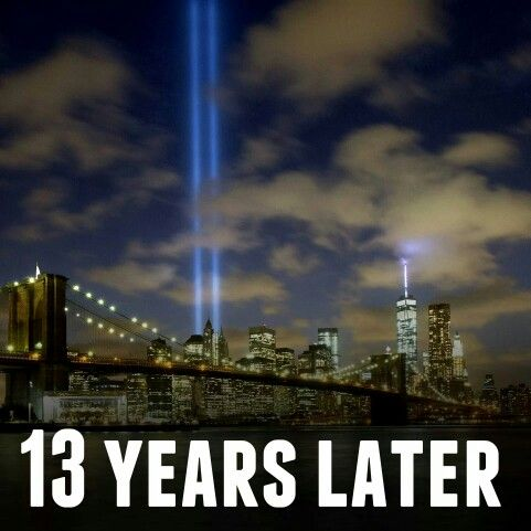 The Tribute In Light Returns To Ground Zero As We Commemerate - Two beams light new yorks skyline beautiful tribute 911