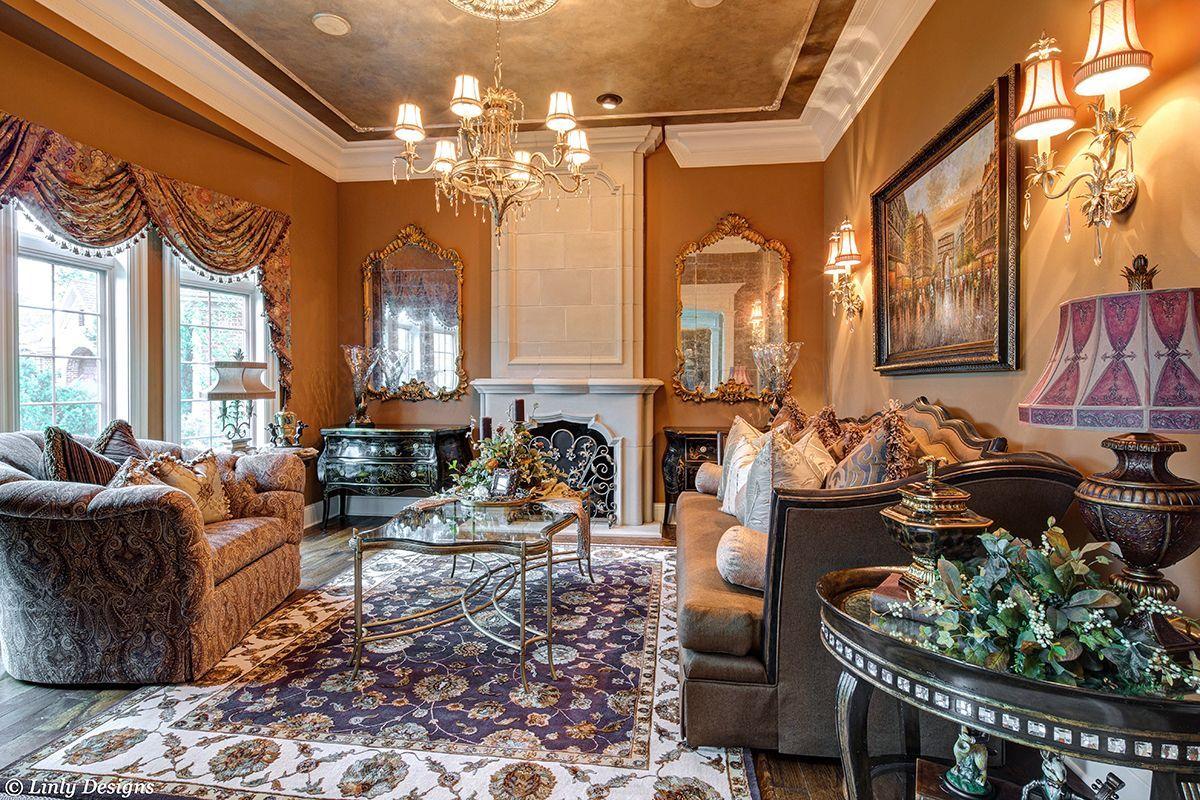 Living Room & Family Room Design