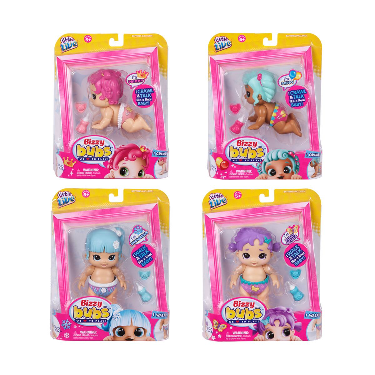 Little Live Bizzy Bubs Baby Doll Assorted Kmart Baby Dolls