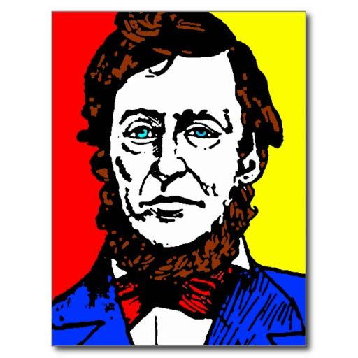 Henry David Thoreau Born David Henry Thoreau July 12 1817 May 6 1862 Was An American Author Poet Naturalist Tax Postcard Mass Culture American Author