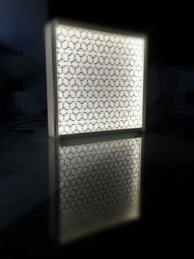 Unity Pattern with White Backlight