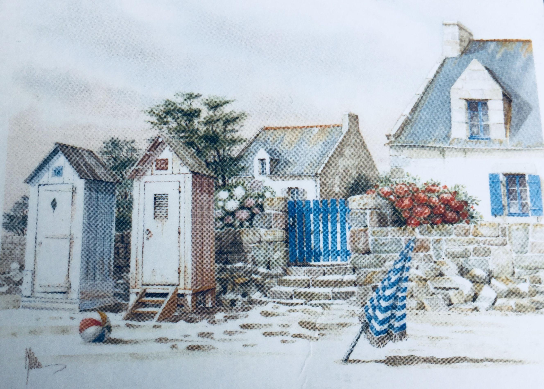 Aquarelle Jean-Roger Morel Éditions d\'Art Jack 22700 Louannec ...