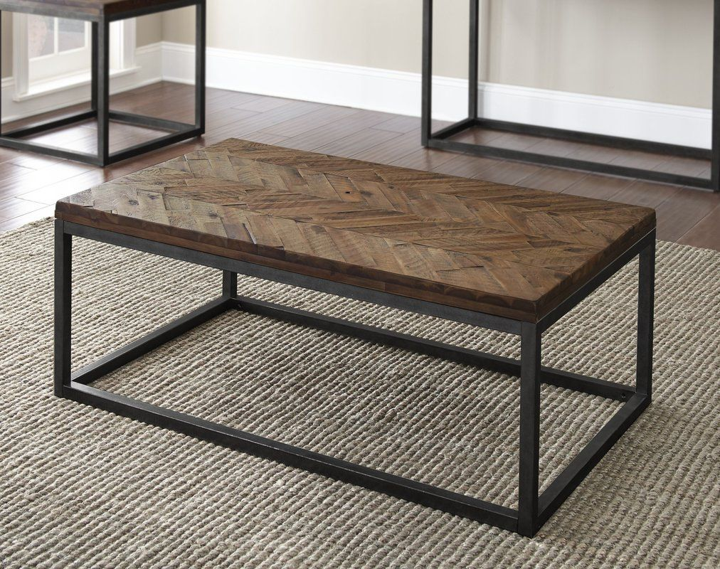 Kenton Solid Wood Frame Coffee Table