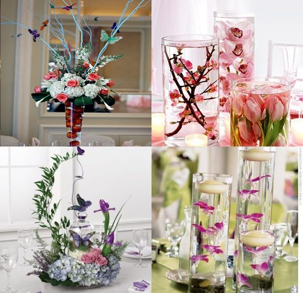 quinceanera decorations | Elegant Quinceanera Centerpieces ...