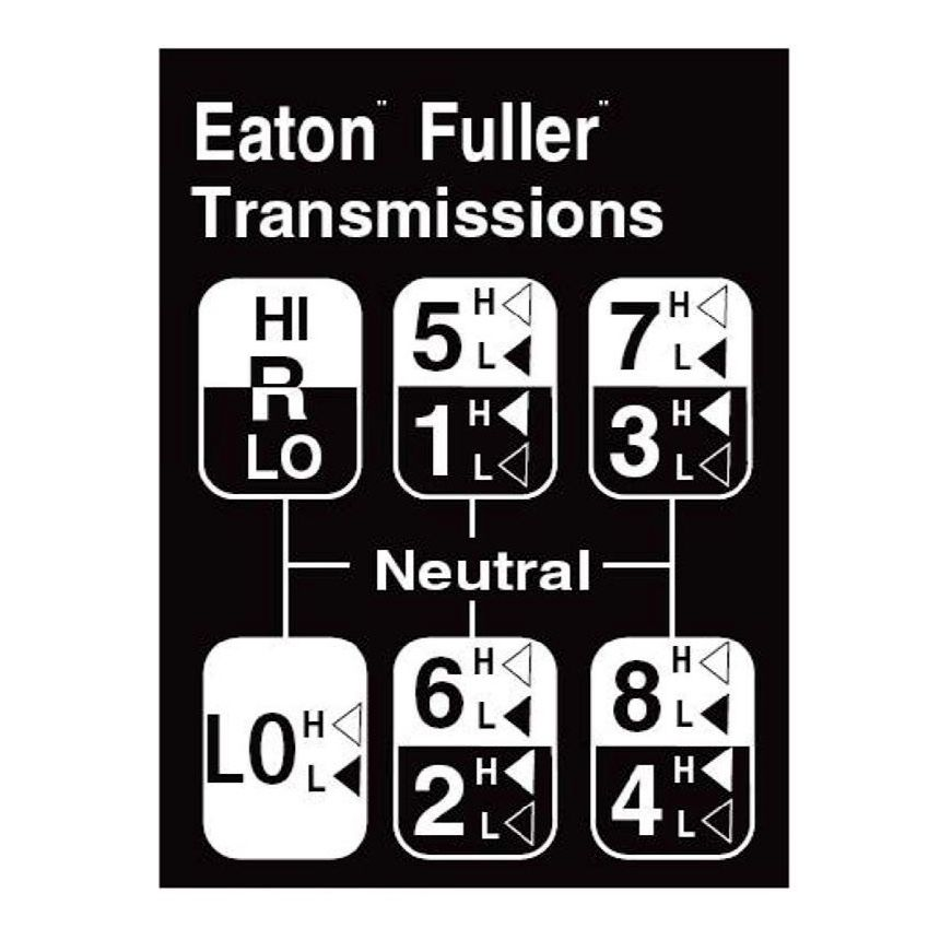 18 Speed Road Ranger Gearbox Pattern Trucker Quotes Eaton Fuller Shift Pattern