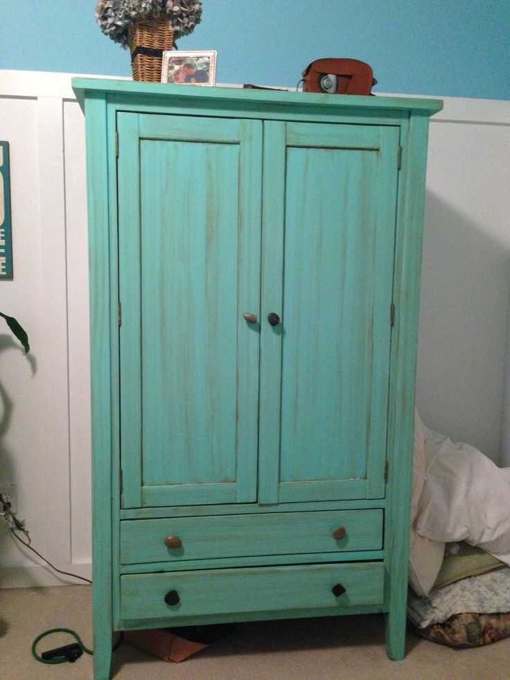Image Result For Painted Armoire