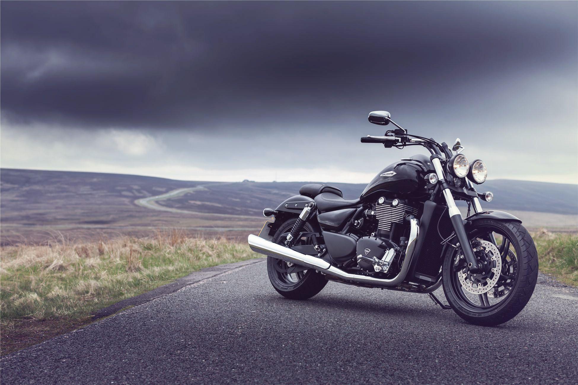 Обои Thunderbird, Triumph, bike. Мотоциклы foto 6