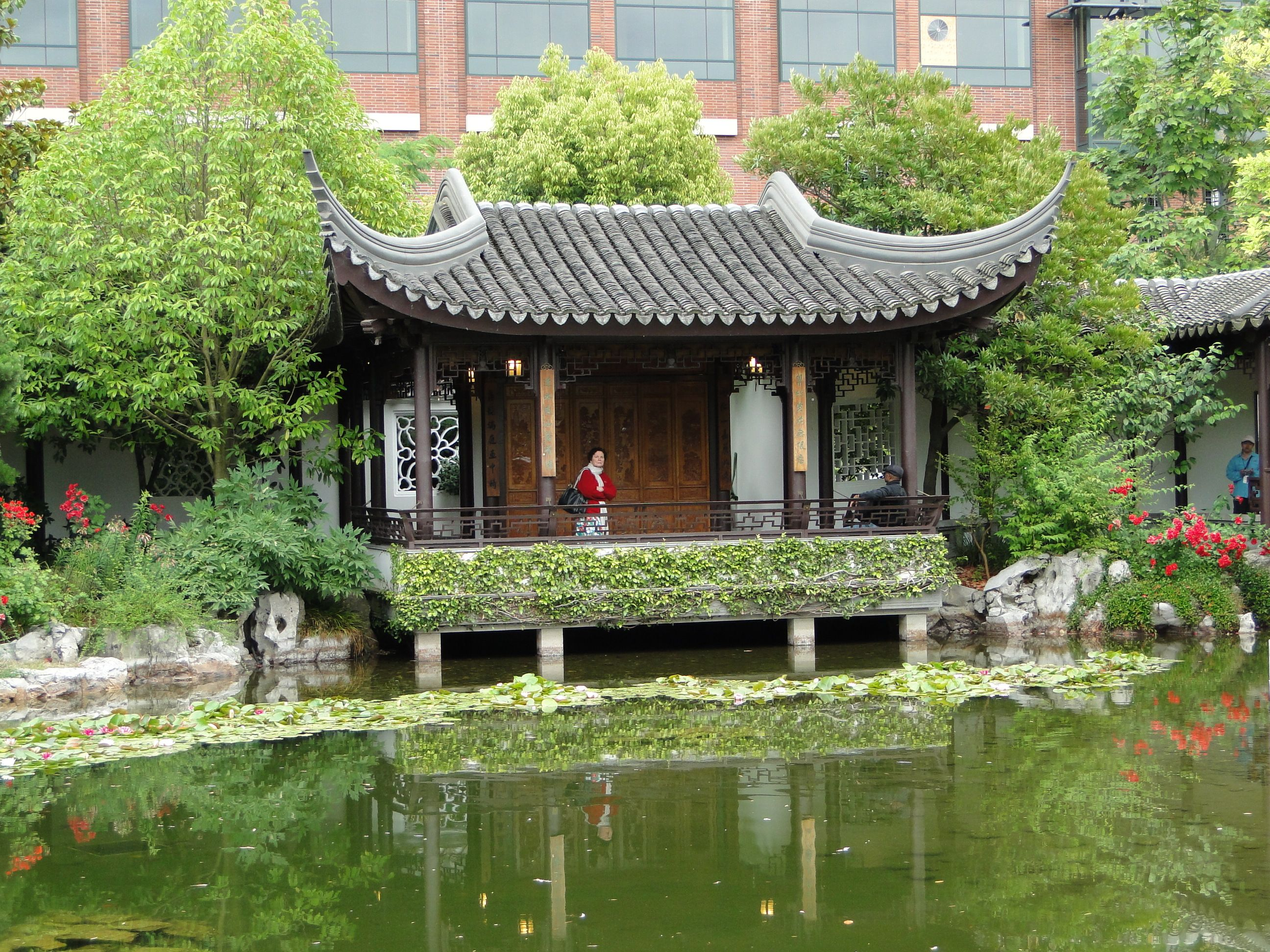 Chinese Gardens In Portland Oregon A Calm Oasis In The Middle Of The City Gardens I Love