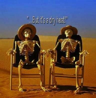 But Its A Dry Heat Hot Weather Humor Weather Memes Arizona Humor