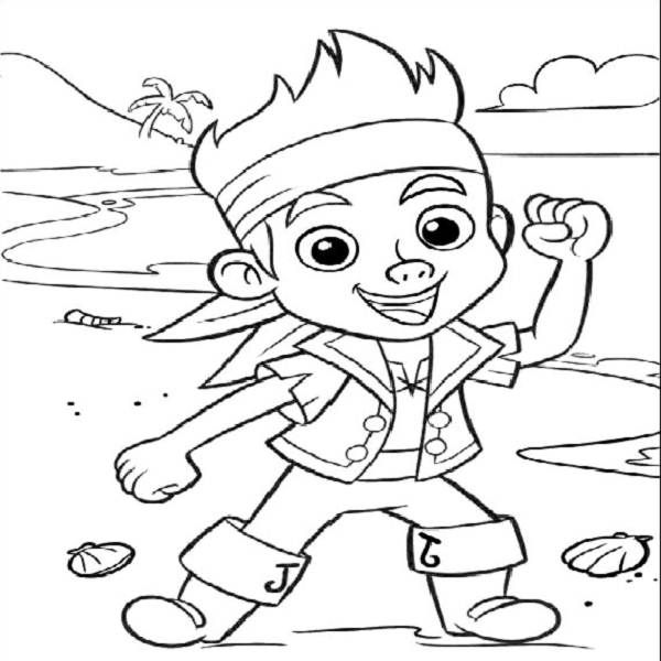 Jack and the neverland pirates pictures coloring pages | Free ...
